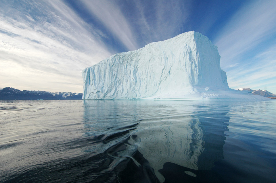 large iceberg, greenland