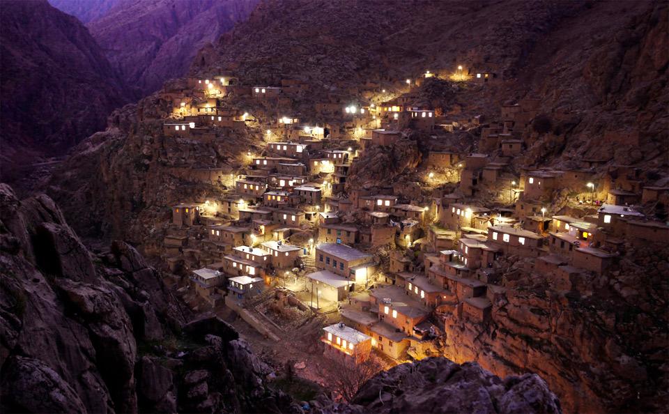 alangan village, iran