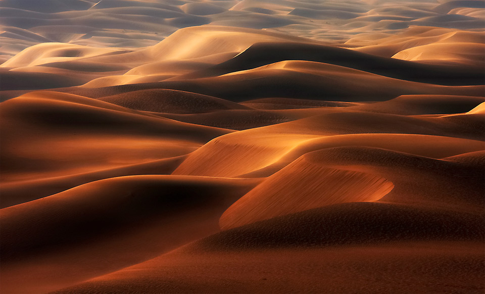 the shape of dunes