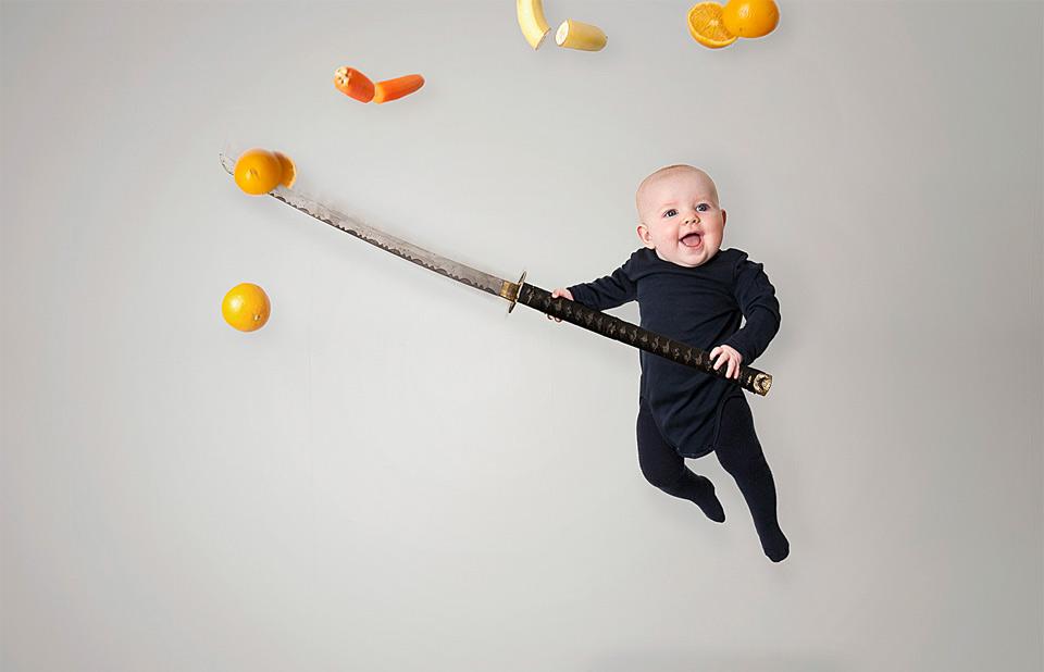 baby fruit ninja