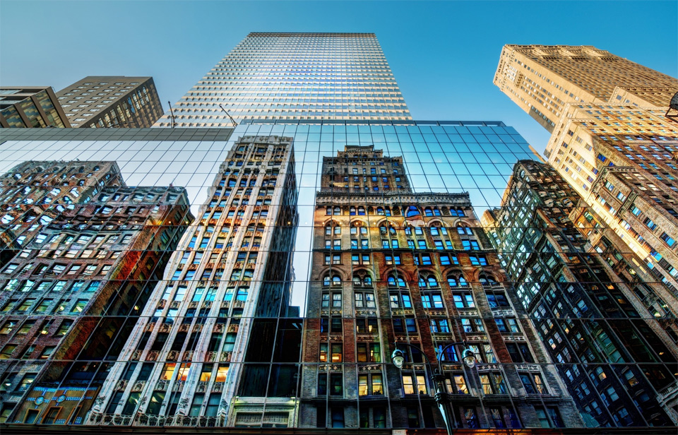 new york city reflections