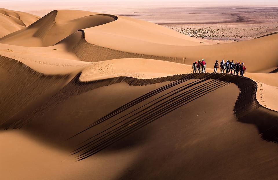 great desert hiking