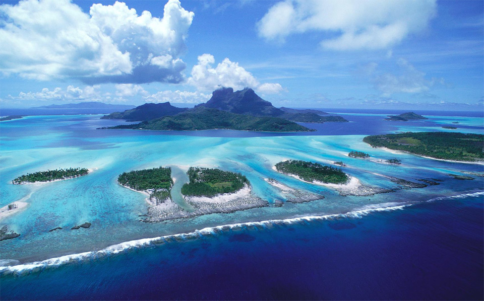 bora bora islands, french polynesia