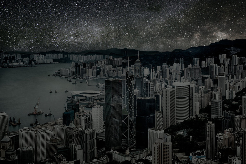 hong kong without light