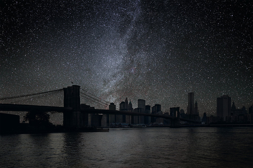 new york without light