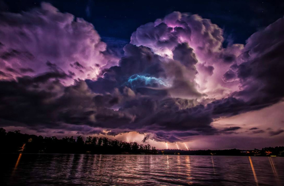Purple Sky Clouds