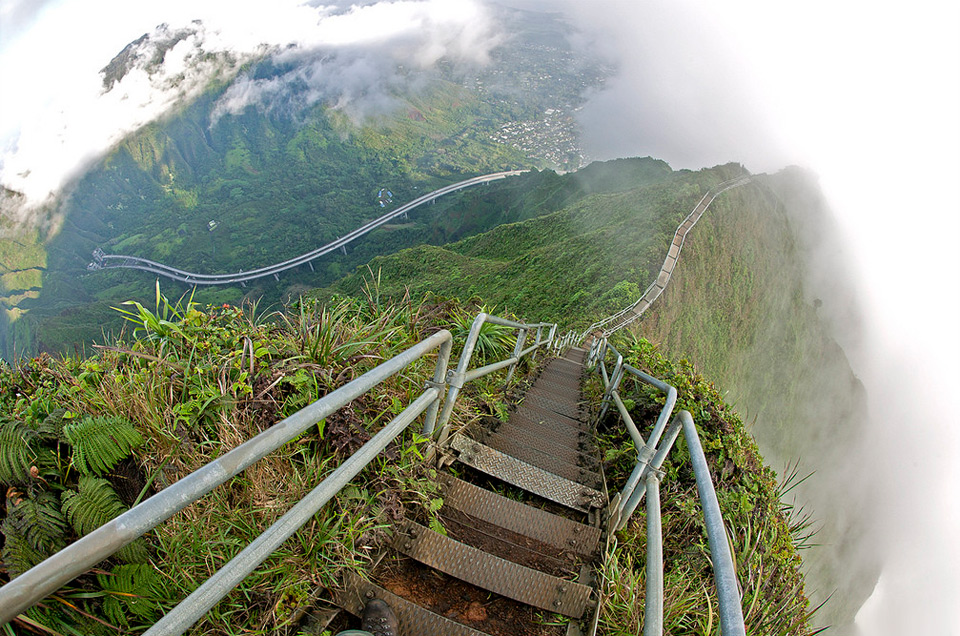 stairway to heaven, island of oahu