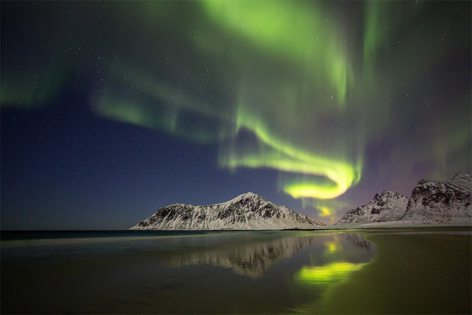 the dance of light, norway