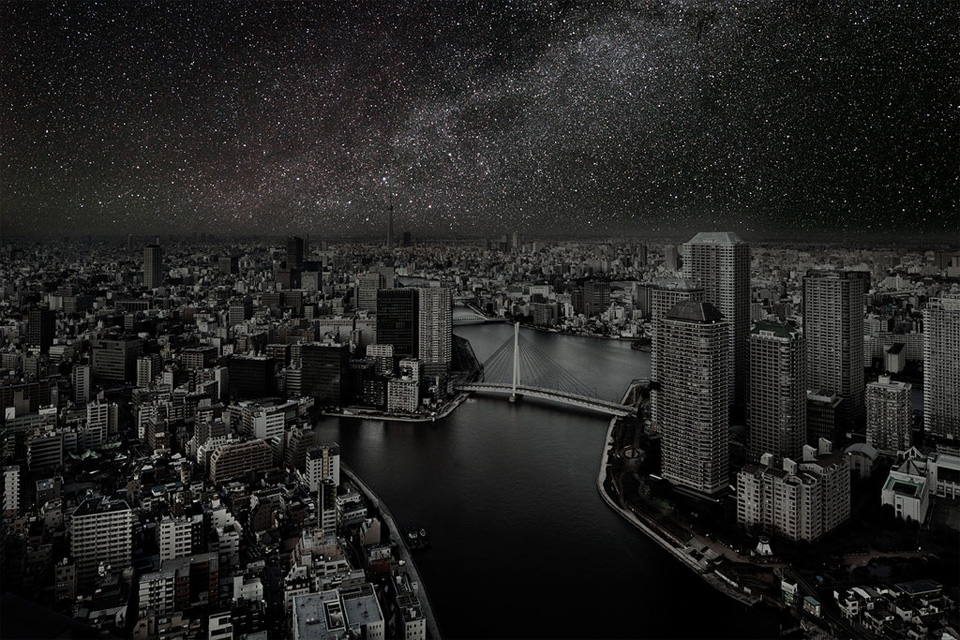 tokyo without light