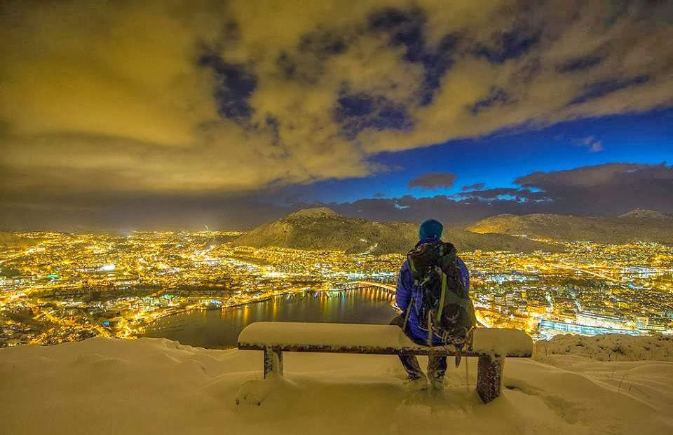 winter in bergen, norway