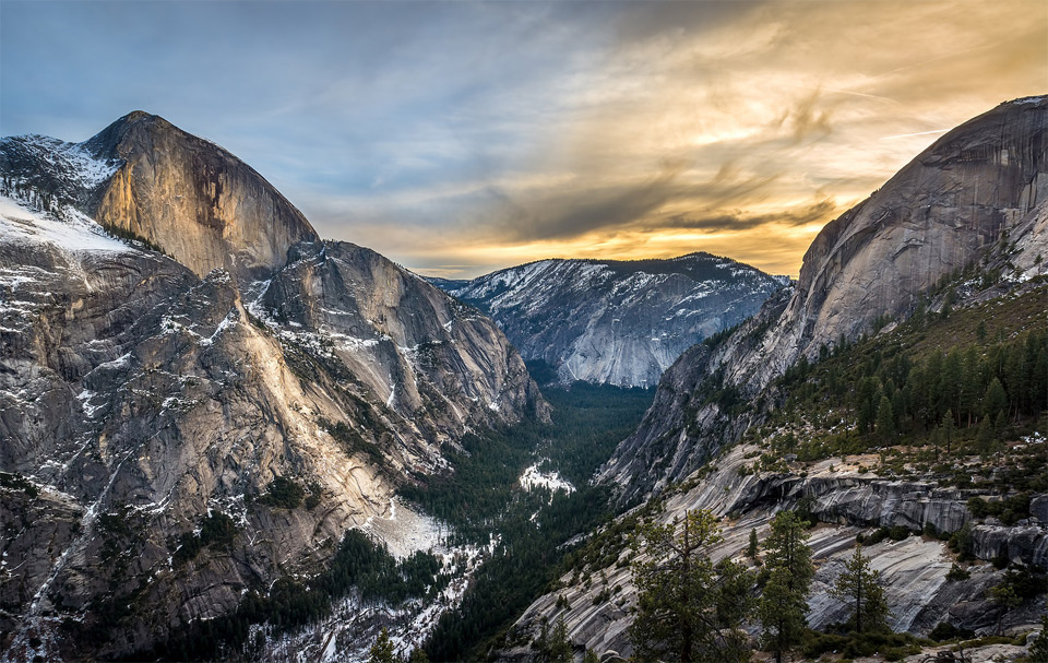 a view on yosemite national park