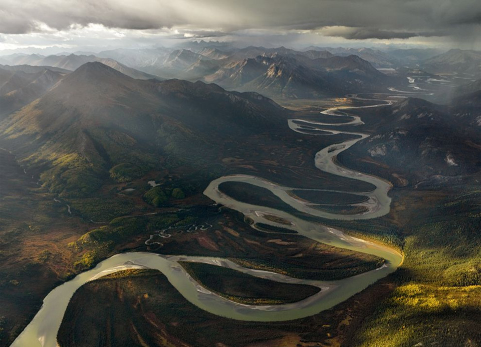 alatna river valley, alaska