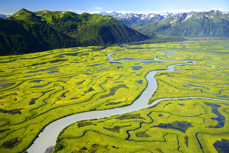 copper river or ahtna river, alaska