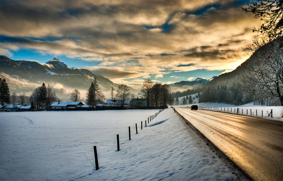 on the road of germany