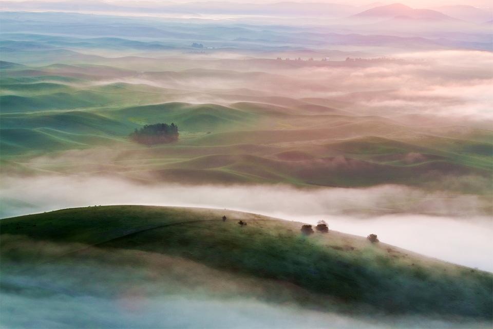 dreamy dawn, scotland