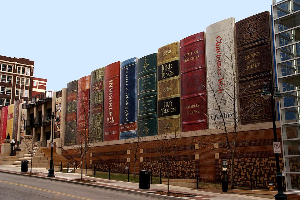 kansas city library parking garage