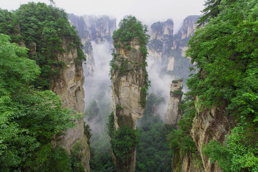 Super zhangjiajie, national forest park in china photo | One Big Photo TM14