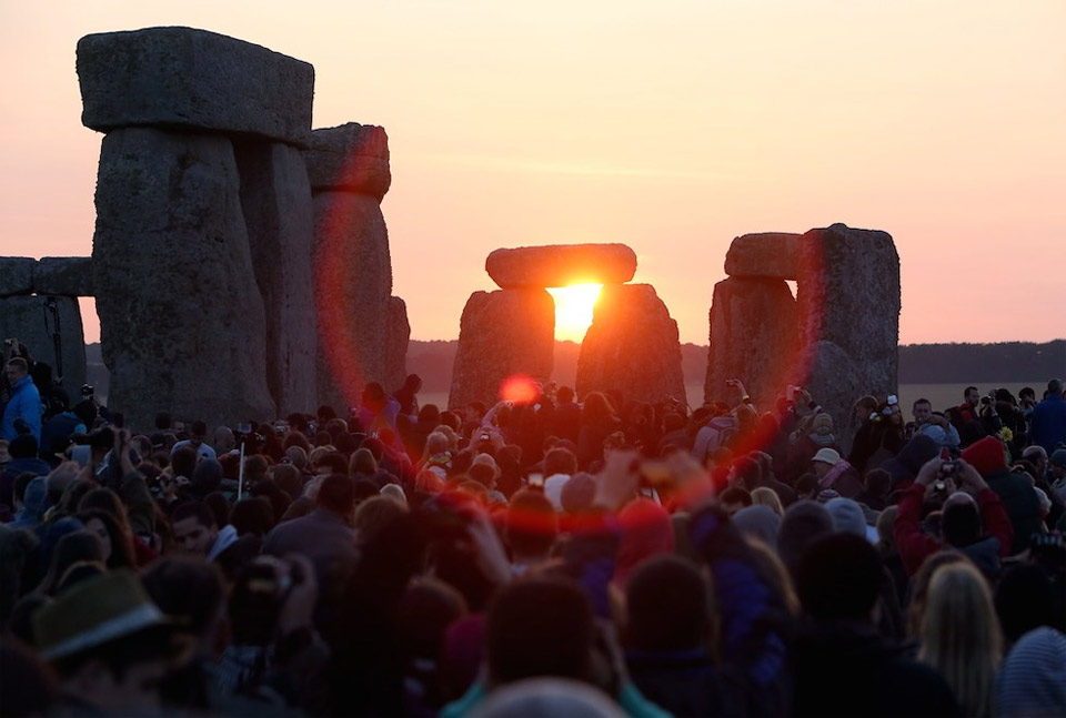 celebration of summer solstice, stonehenge