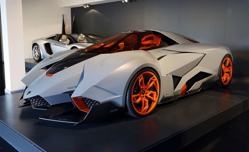 Space Racer Lamborghini Egoista Photo One Big Photo
