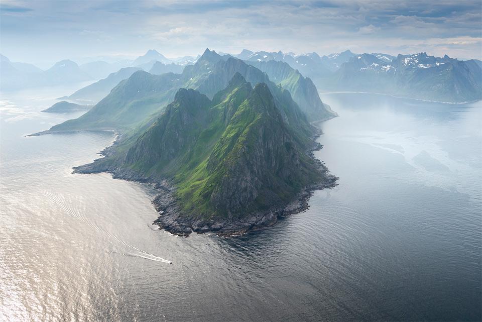amazing island of senja, norway
