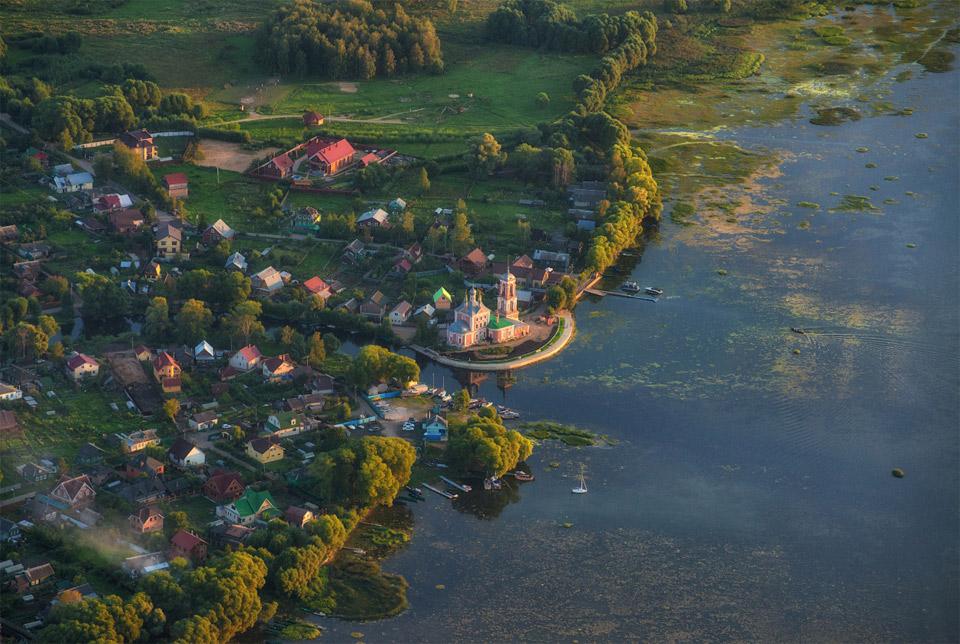 gorgeous pereyaslavl village, russia