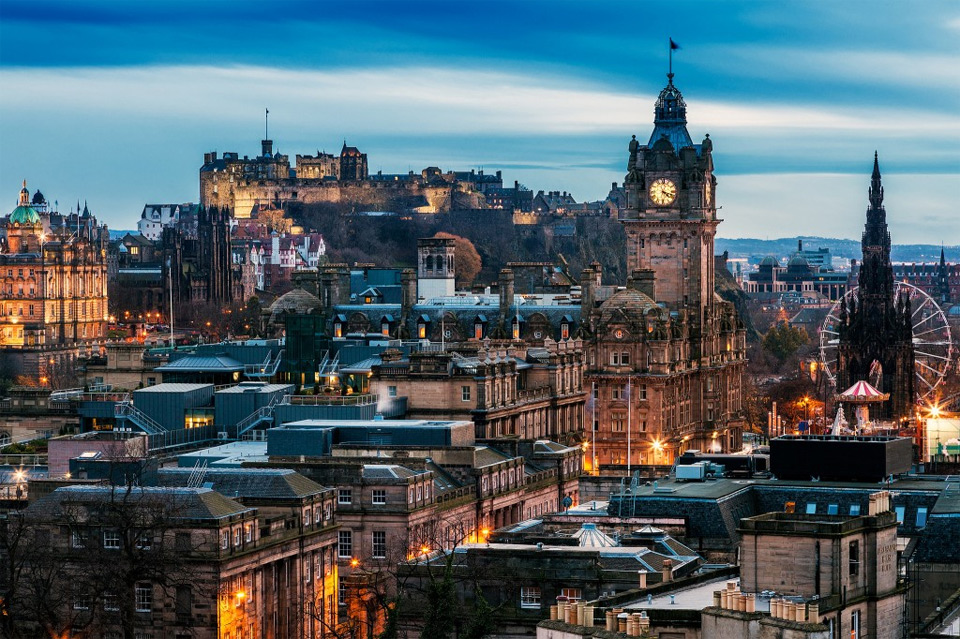 edinburghl, capital of scotland