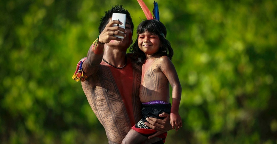 native brazilian selfie