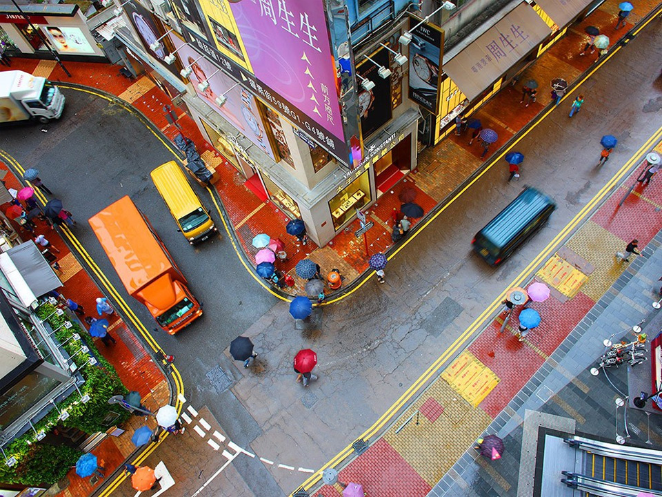 street colors of hong kong