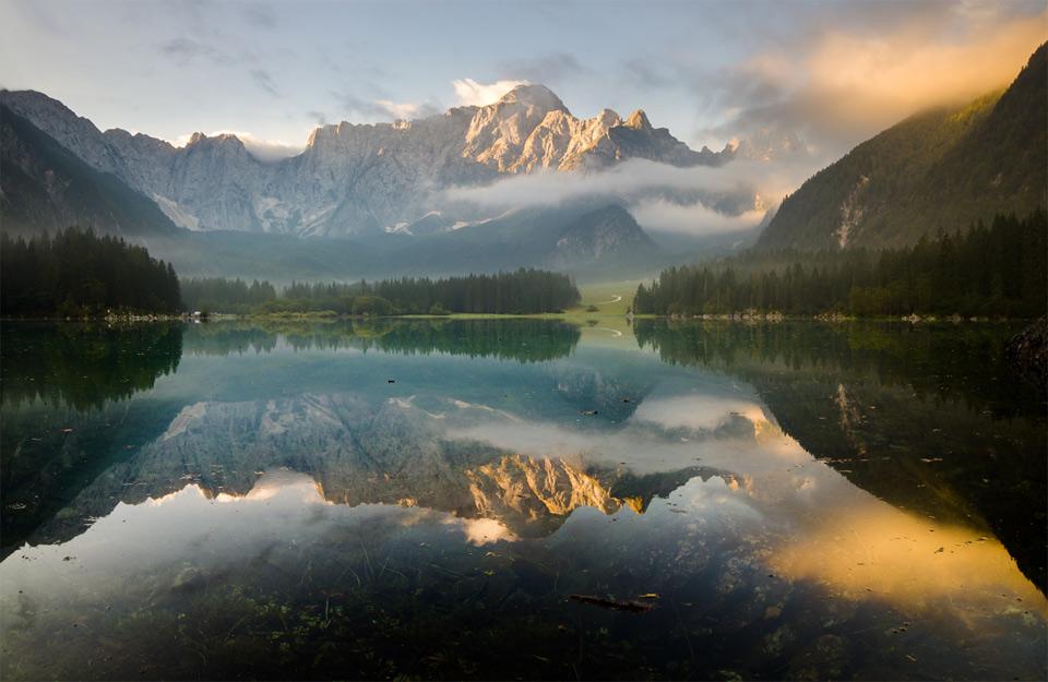 fusine lakes, italy