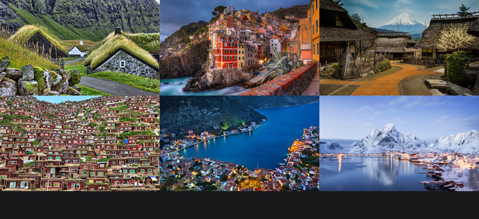 Don't forget to check the first part of Most Beautiful Villages Around The World!