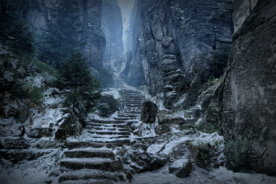 path to high hrothgar, czech republic