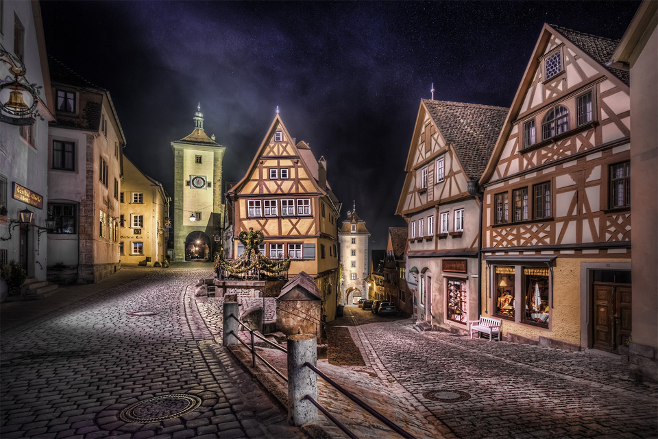 village of rothenburg, germany