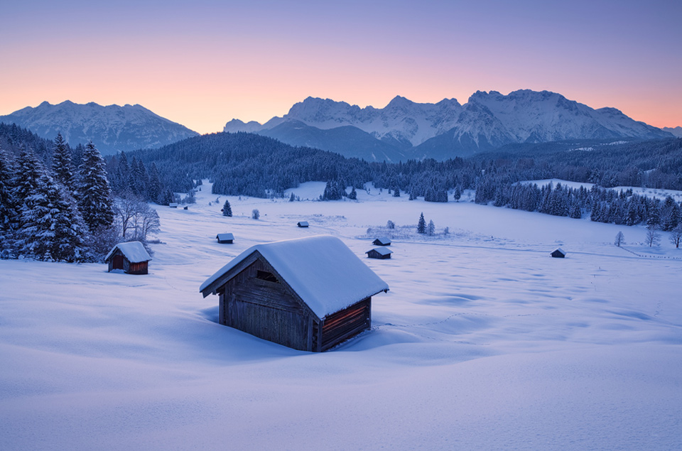 Cottages at German Alps