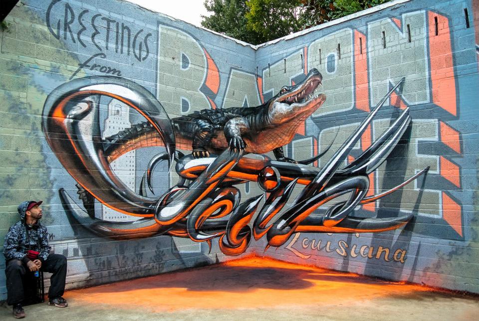 Awesome 3D Graffiti