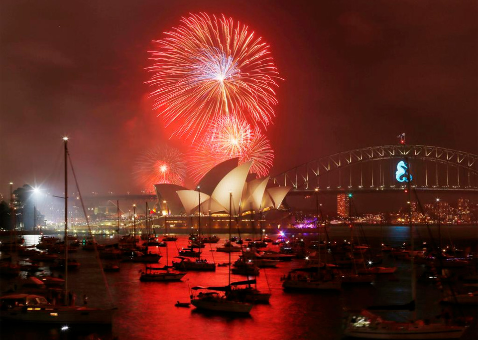happy new year 2015 from australia