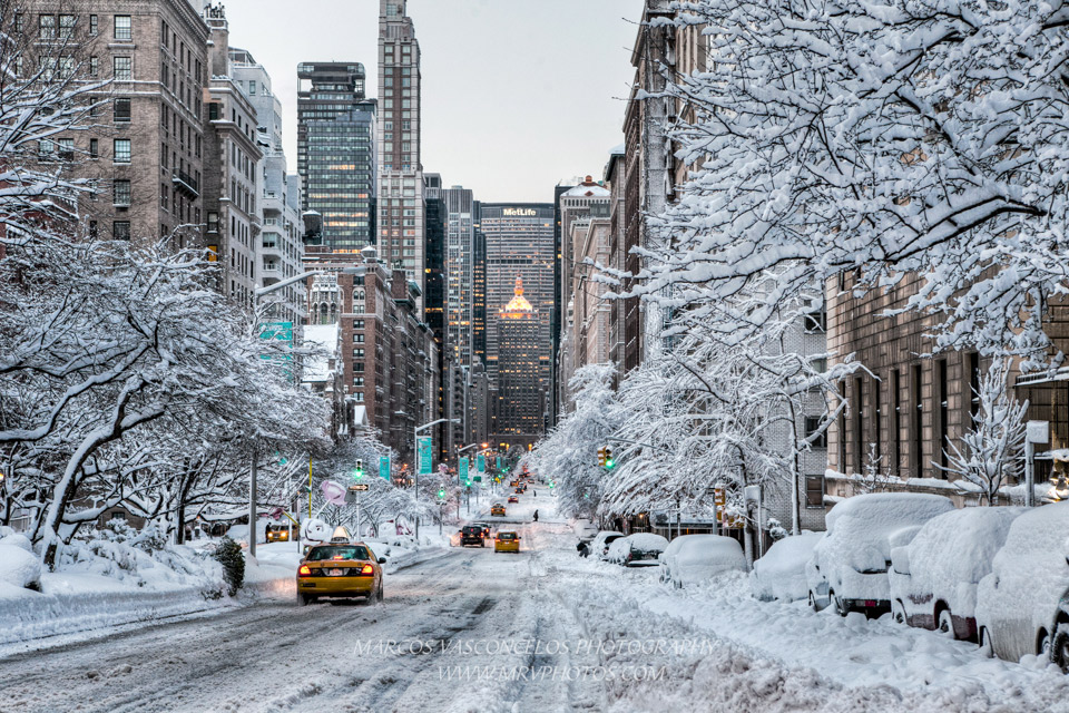 Snowy Day in New York