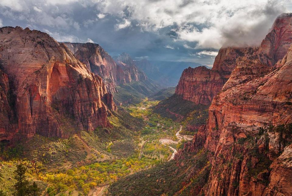 Storm Approaching Zion Canyon