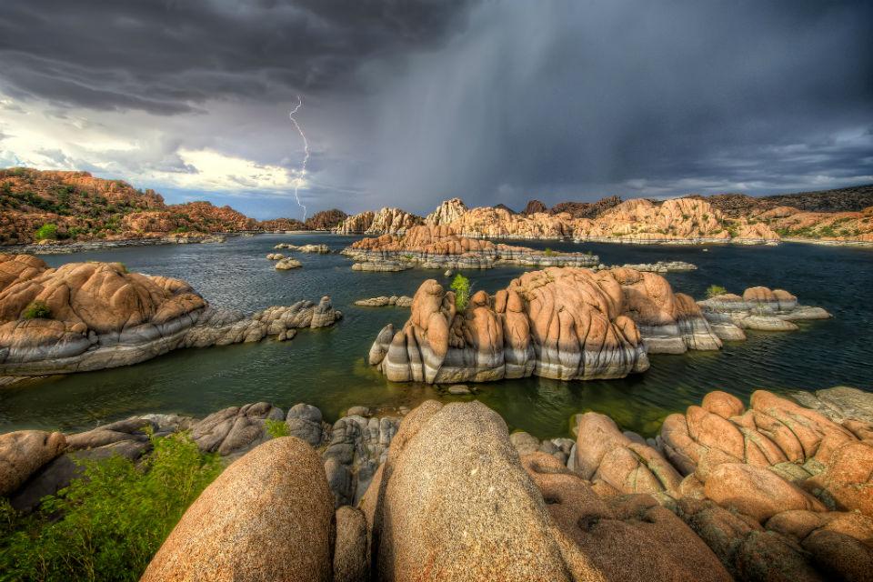 Thunder Over Watson Lake, Arizona