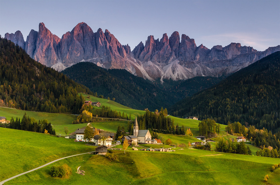 a view on dolomites italy photo one big photo