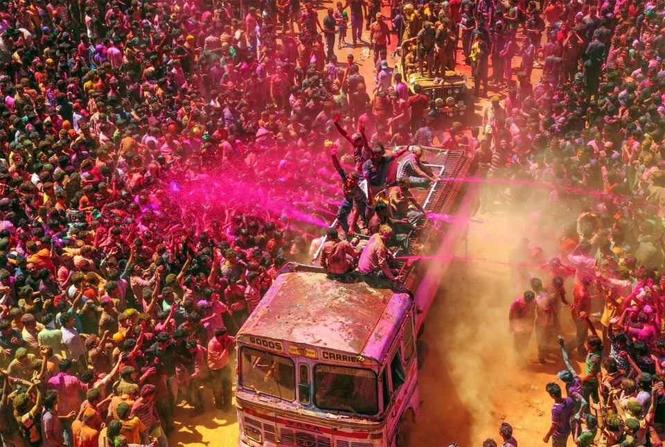 Holi Festival of Colors, India