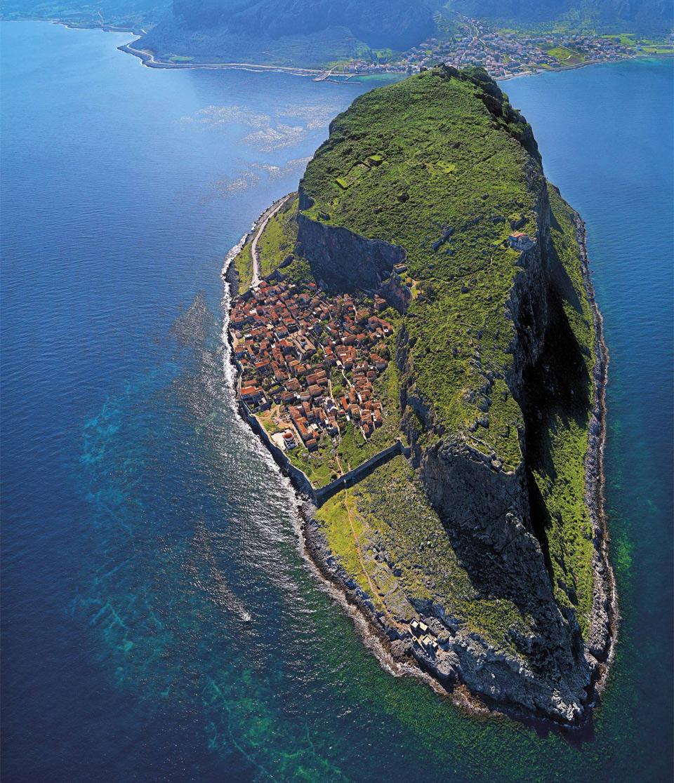 The Hidden Town of Monemvasia, Greece