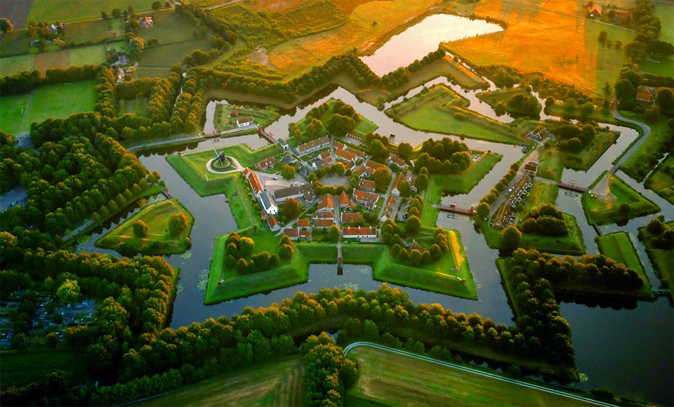 Fort Bourtange, Holland