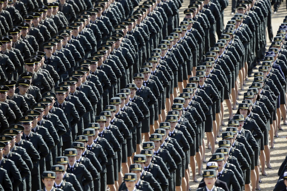 South Korean Military Officers