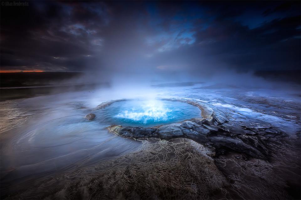 Bubbling Geyser, Iceland