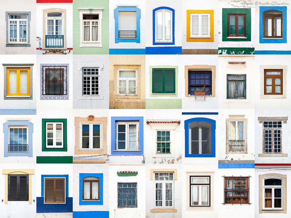 Beautiful Variety Of Windows Styles Around The Europe