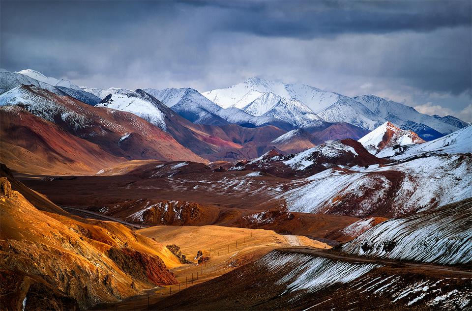 Amazing Ak-Baital Pass, Pamirs, Tajikistan