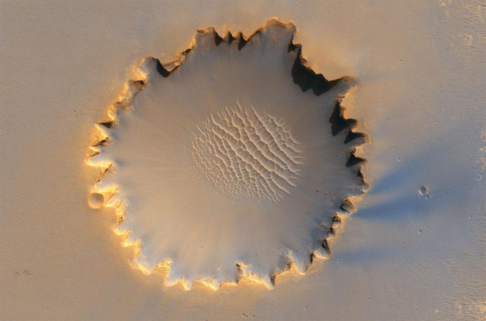 Victoria Crater, Mars