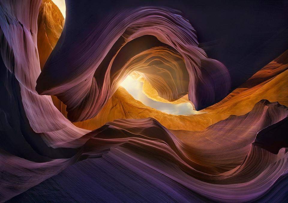 Waves Of Rocks, Arizona Canyon