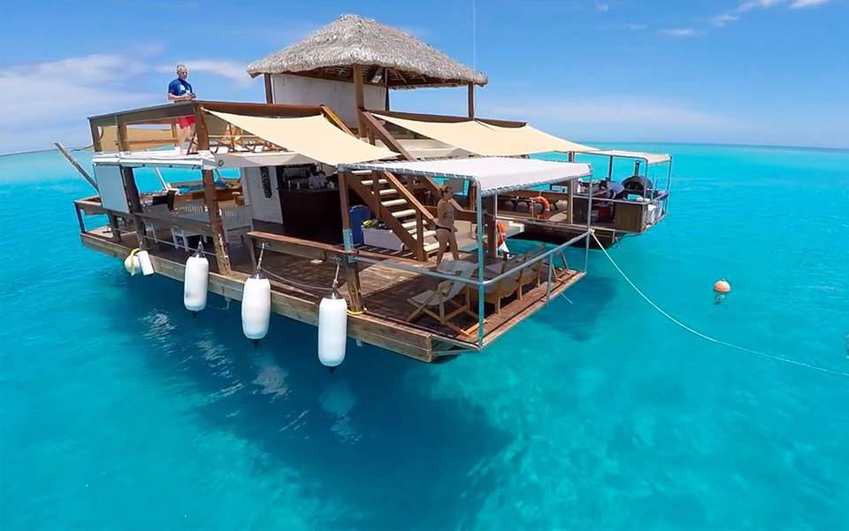 Floating Bar In Fiji
