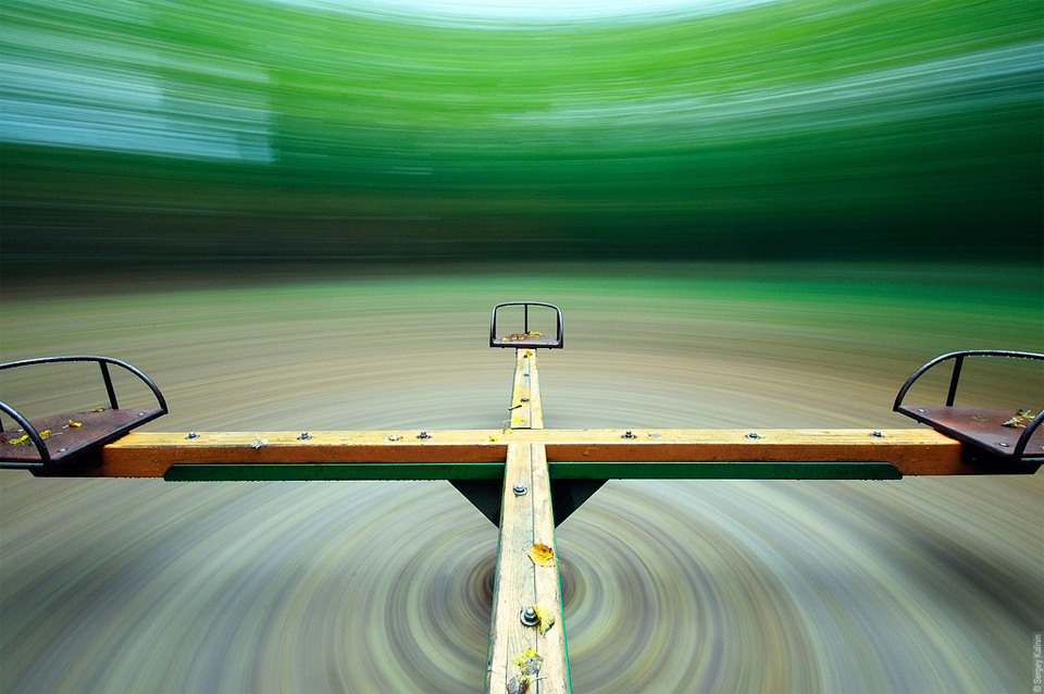 "Long Exposure Of ""Merry Go Round"""